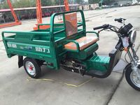 wholesale from China gasoline 3 wheeler cargo for adults with driver cabin