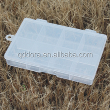 innovative product portable plastic fishing tackle box bule plastic storage bin