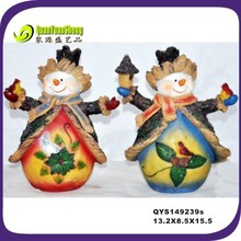 2014 creaive resin snowman wholesale gift item
