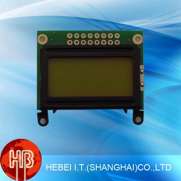 5 볼트 3.3 볼트 문자 LCM 디스플레이 LCD 모듈 8x2