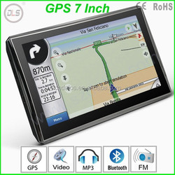7 inches car gps navigator with fm av bt isdb-t functions Japanese Language GPS free Map Support wireless rearview camera
