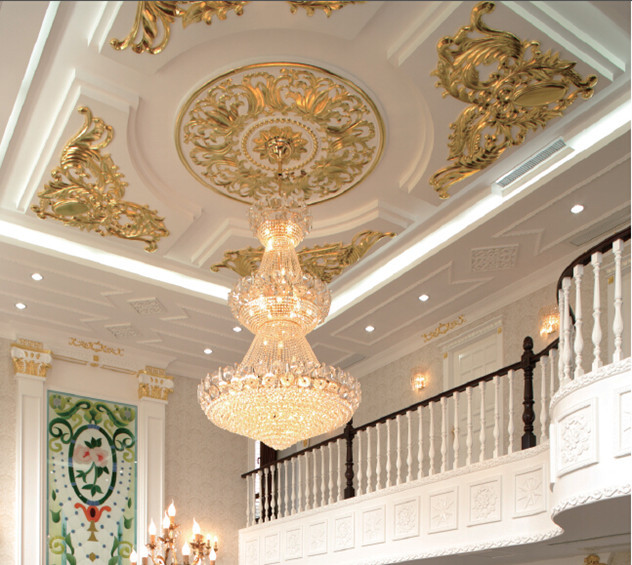 House Inside And Outside Decoration Material Gypsum Grg