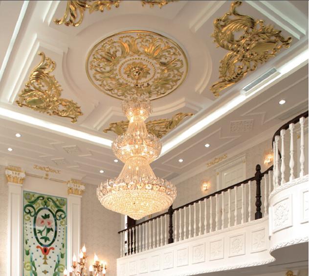 wallpaper ceiling medallion