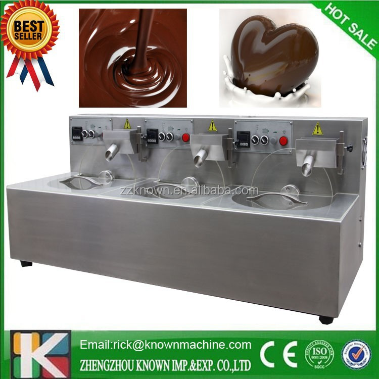 Kn-8 Factory Price Commercial Used Small Chocolate Tempering ...