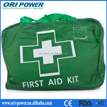OP manufacture FDA ISO CE approved nylon gym outdoor sport first aid kit bag