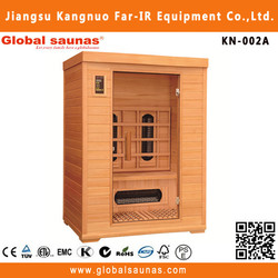 2015 far infrared health care sauna cabin for 2 persons KN-002A