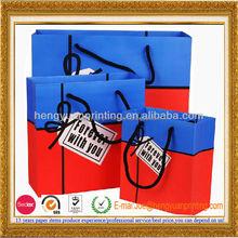 Famous Brand craft paper bag Christmas gift bag