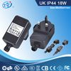 Waterproof led power supply with UL/cUL/CE/GS/BS/SAA/C-Tick/PSE/KC approval