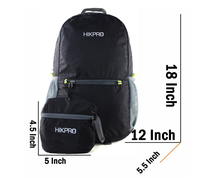 Portable Lighweight Waterproof unisex ripstop nylon foldable backpack ,cycling outdoor foldable sport backpack.