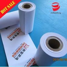 A nivel de papel térmico papel de rollo impreso
