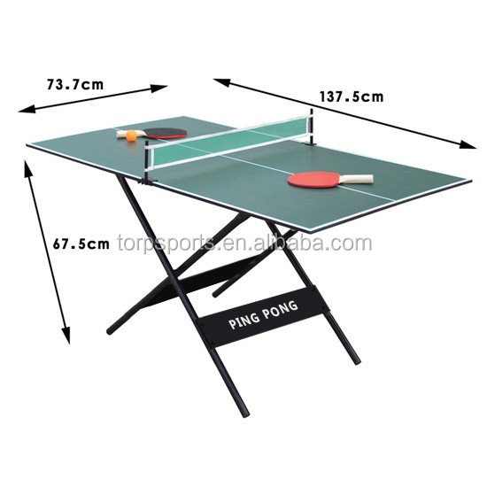 Attirant Small Size Table Tennis Table Easy To Carry Pingpong Table   Buy ...