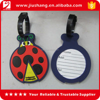 3D rubber luggage tag,OEM logo Soft PVC rubber luggage tag,Promotional pvc travel tag