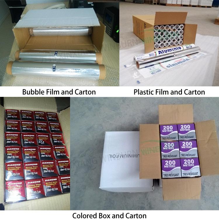 8011 O Food Aluminium Foil Roll
