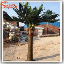 Durável novos produtos todos os tipos de coco artificial palmeira barato falso palmeira inflável ao ar livre palmeira