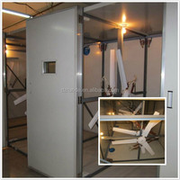 1200mm incubator temperature controlled exhaust fan for sale