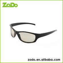 plastic circular polarized 3D glasse with vivid master image