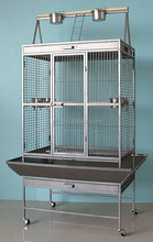 Bird Cage 31X21X69inch Large Play Top Amazon Parrot Finch Cage Macaw Cockatoo Pet Supply