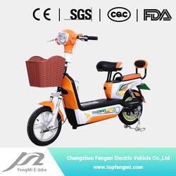 FENGMI Cool Guy long range two seat vintage electric bike350w 48v fast