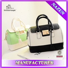 korean style colors bag zip lock bag fashion bag for ladies