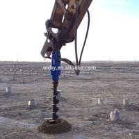 BeiYi Piling Equipment Bored Pile Auger