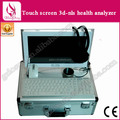 Actualización gratuita de Software 3D Detector diamante 3D NLS pantalla táctil analizador de la salud, análisis de la máquina