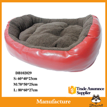 Factory export directly Soft short velvet small dog bed