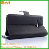 iBest factory selling popular wallet leather caser for htc one m9, Retro Wallet Case For Htc One M9