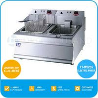 Counter Top Electric Mcdonald's Frying Machine/Fish Frying Equipment/Fish Frying Machine