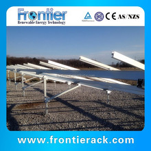 Solar panel ground mounting solar installation