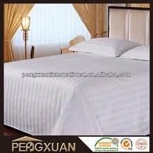 PX Wholesale Luxury 200TC,250TC,300TC,400TC White Hotel Bed Linen