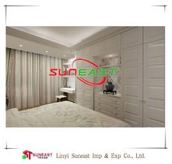 Linyi SUNEAST veneer mdf mdf bedroom furniture ,White Oak Veneer Mdf Board