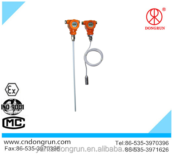 Different types of water level sensors