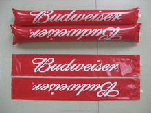 Inflatable cheering sticks/ Inflatable noisemaker sticks / PE bangbang stick