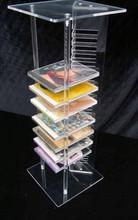 2015 Cheap acrylic customized CD/ DVD/VCD storage rack/ shelf / stand / display