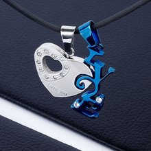 Hot Sale Stainless Steel Couple Pendant Jewelry 2012(BP10353)