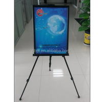 stable black painting/canvas easel poster advertising easel stand
