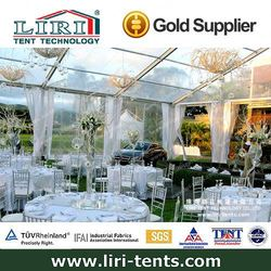 500 people tent material pvc transparent in South Africa