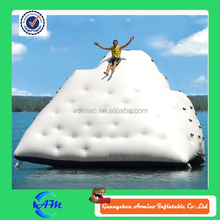 inflatable Water Iceberg, Inflatable Water Climbing, inflatable floating water game for aqua water park