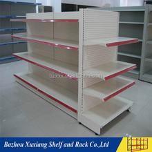 Good looking department store used display steel cosmetic shelf