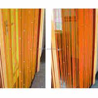 Hot Sale Romantic Beads Design Beaded Crystal Curtain String Door Window Curtain Divider partition Tassel Decoration 100x200cm