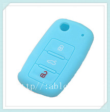 ABLCS colorful 3 button silicone remote control protective cover,waterproof case,waterproof key case