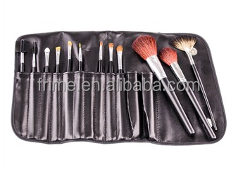 Set  natural Professional piece Brush cheap Makeup natural 12 Hair brushes makeup hair