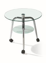 DYB55 Danyalife Hot Selling Dining Room Tempered Glass Coffee Table