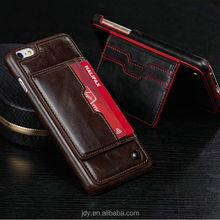 Luxury PU leather wallet cell phone case for iphone 6 case/for iphone6 4.7inch case PU leather