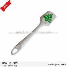 Mejor utensilios para hornear de silicona para eco- ambiente de pastelería herramientas flexible de silicona raspador