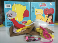 OEM art & craft kit make your own sewing cat
