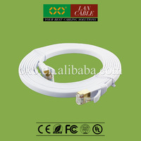 24AWG Copper FR PVC Cat7 SFTP RJ45 Plug Patch Cord Cable