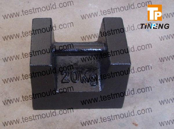 20 kg fonte classe M1 poids de contrôle de masse, Bloc de poids, Standard poids