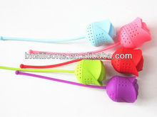 Popular new products silicone unique and useful tea infuser
