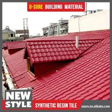 Waterproofing material chicken poultry shed design synthetic resin roof tile